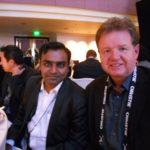 TheatreWorld's Editor Raghav with Murray Holdaway of Vista Enterainment NZ