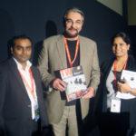 TheatreWorld's Raghav and Clancy with Actor Kabir Bedi